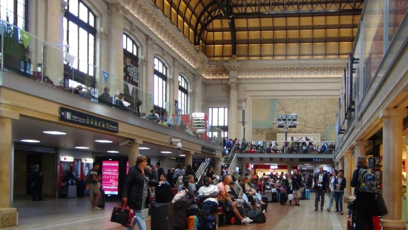 Gare Saint-Jean à Bordeaux