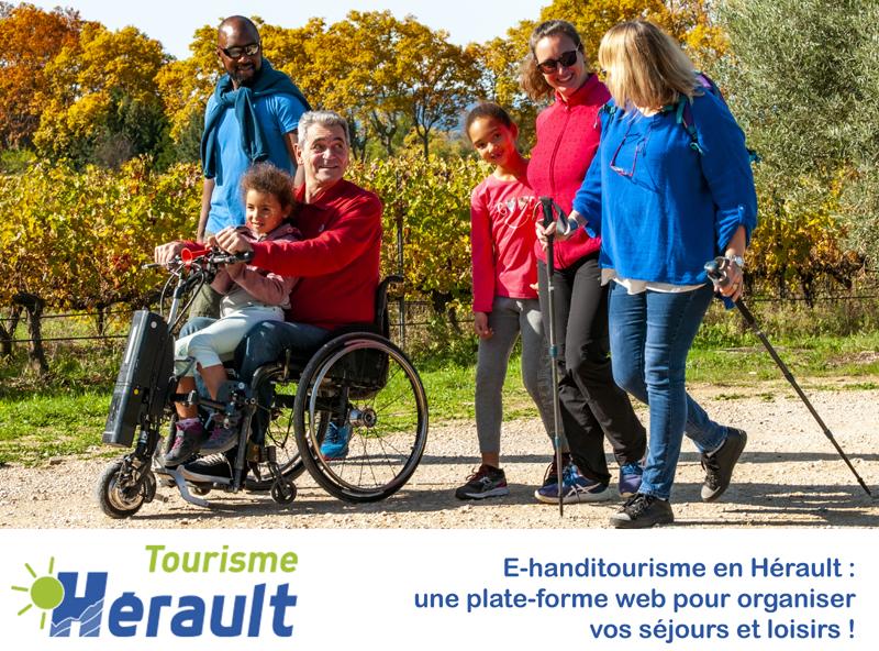 E-handitourisme en Hérault : une plate-forme web pour organiser vos séjours et loisirs