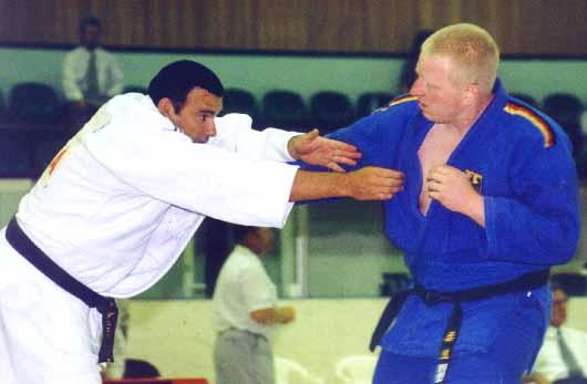 Handijudo : Championnats d'Europe Oufa 2001