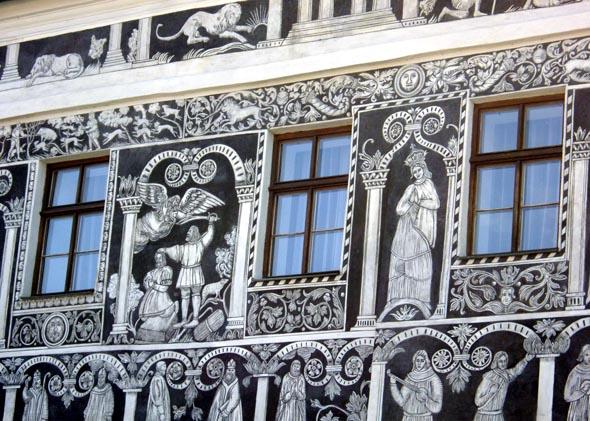 Sgraffites à Trebíc