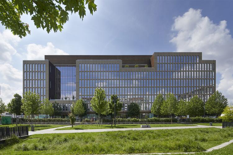 Immeuble Pulse, futur siège du COJO ©Icade