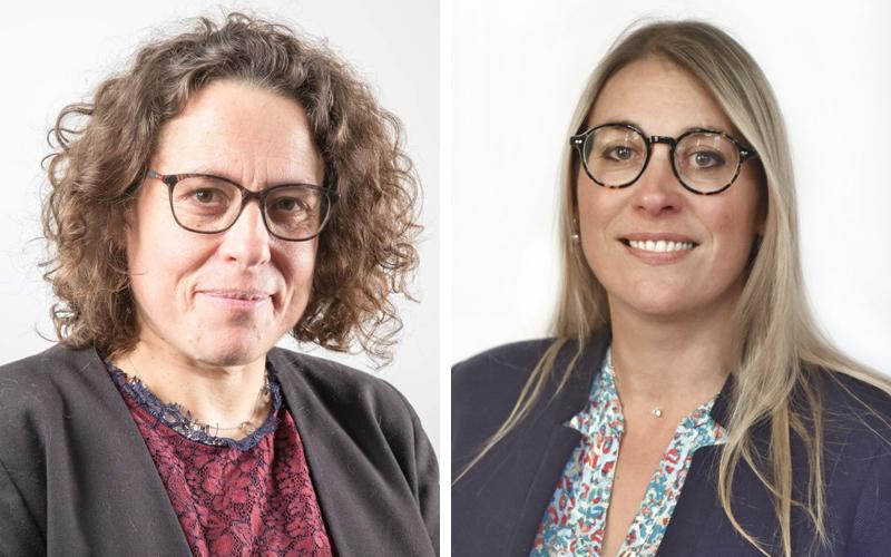 Karine Marin-Roguet & Virginie Cronier