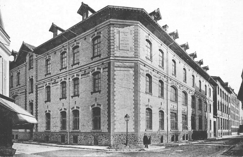 L'Institut Baguer au début du XXe siècle