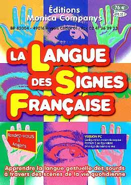 Couverture du cédérom de Monica Companys 'La Langue des Signes Française'