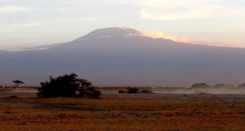 Le Kilimandjaro vu du Kenya ©Yanous.com