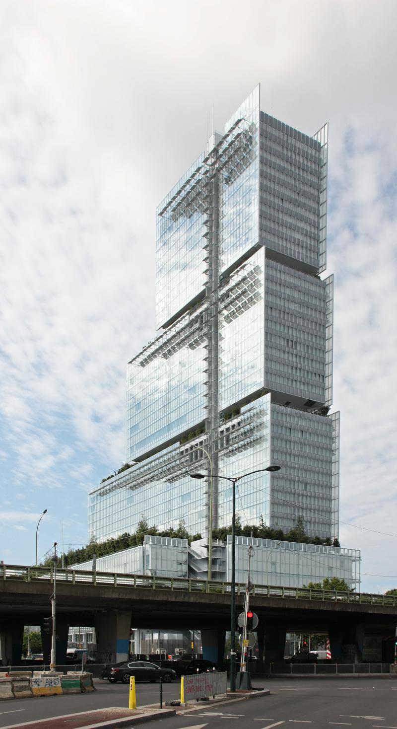 Le Tribunal de Paris en juin 2020 ©Arthur Weidmann-Renzo Piano