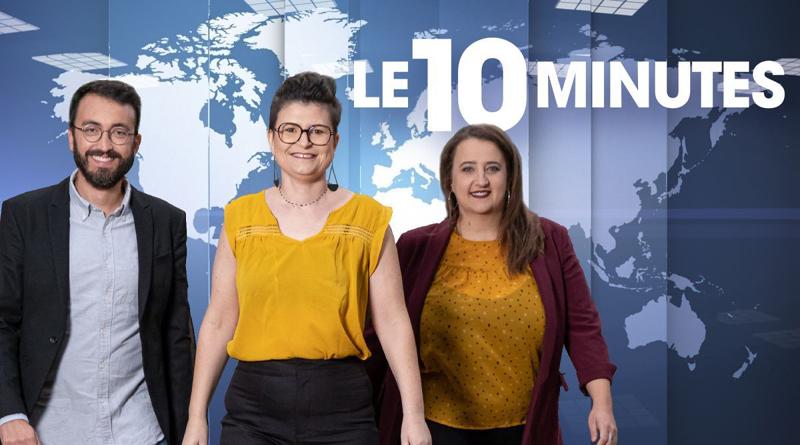 Les trois interprètes LSF du 10 minutes
