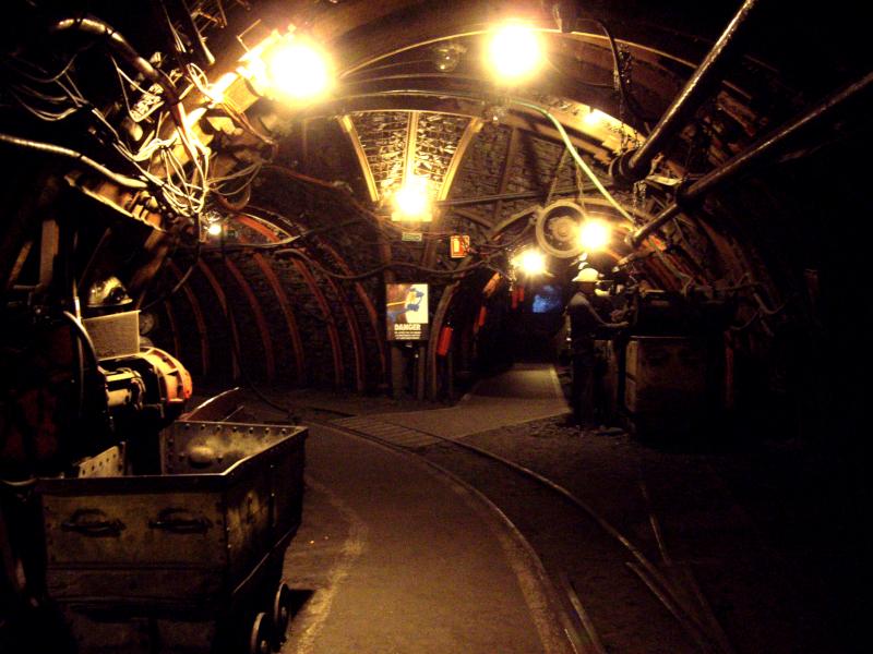Centre Historique Minier de Lewarde, galerie reconstituée