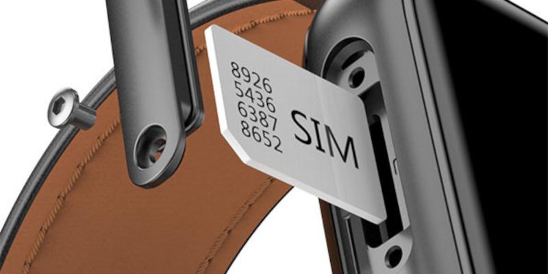 Logement de la carte SIM