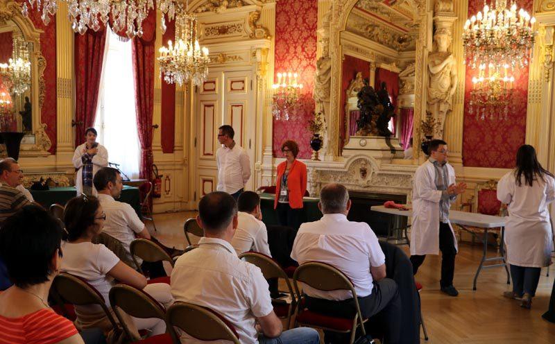 200 métiers à la ville de Lyon