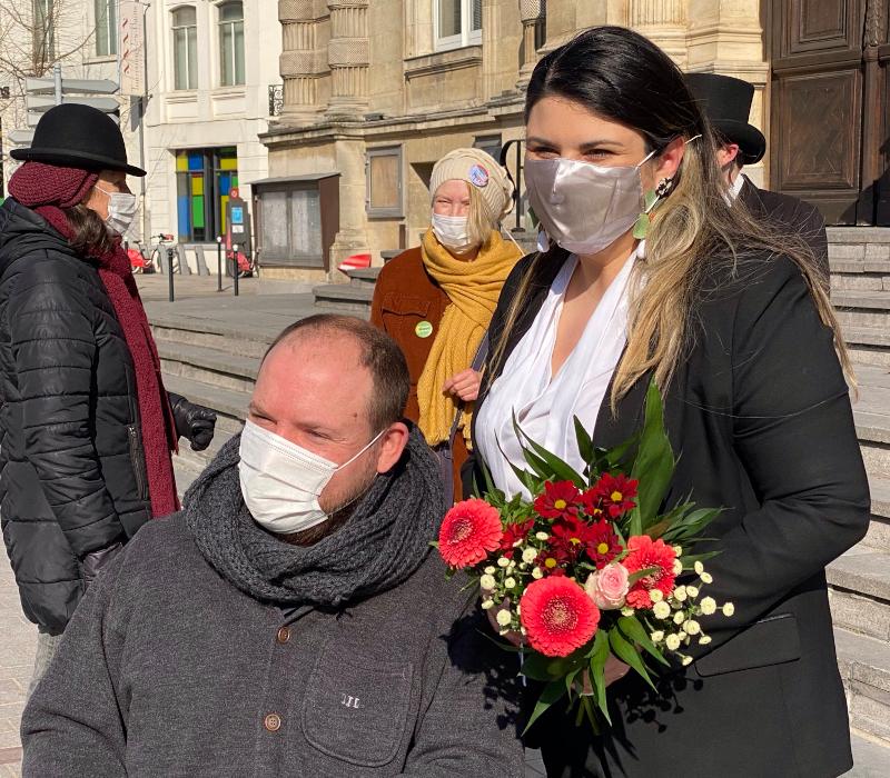Maxime Bouche marié fictivement à Katy Vuylsteker