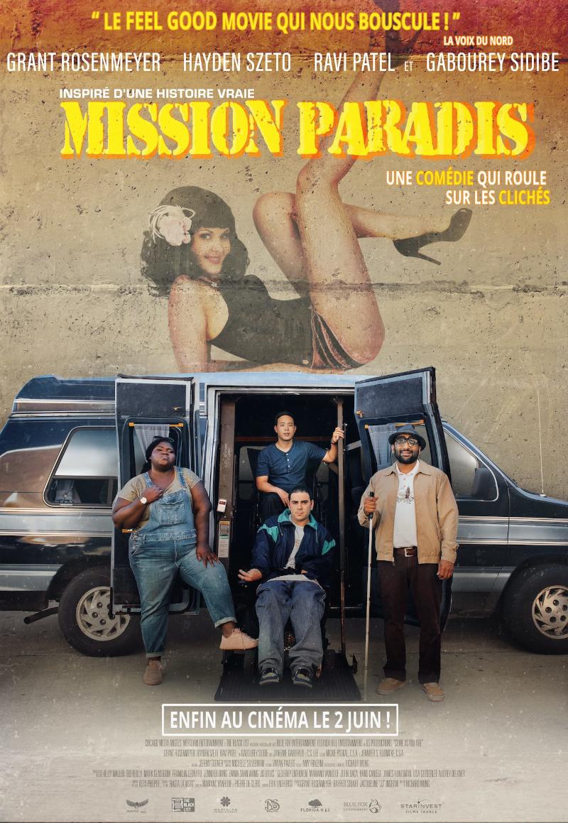Mission Paradis, affiche du film
