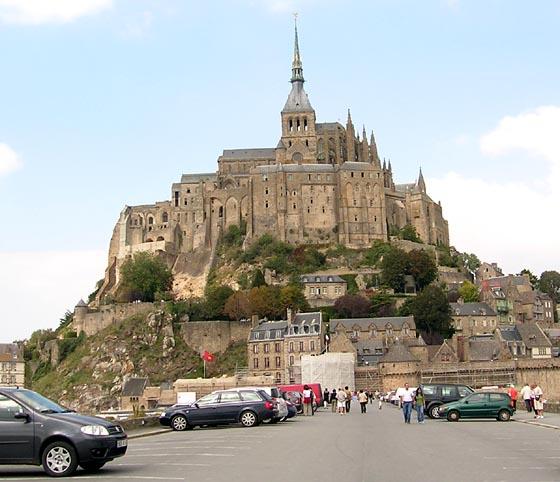 Le Mont-Saint-Michel en 2007.