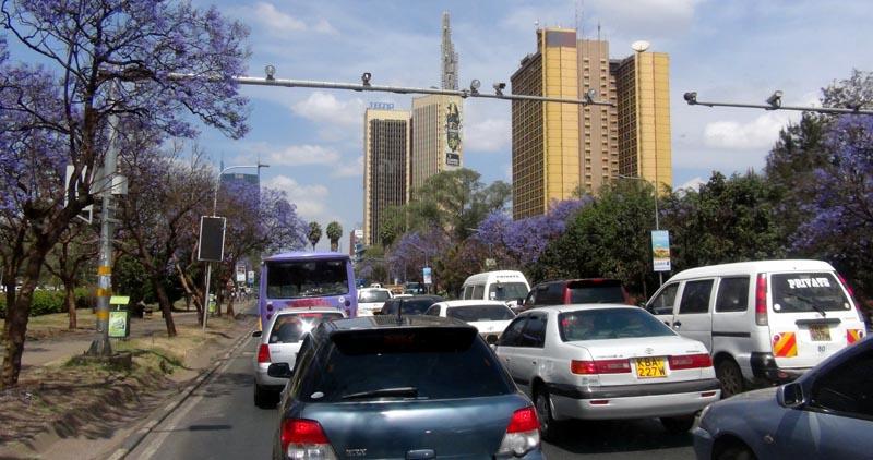 Nairobi et ses immeubles