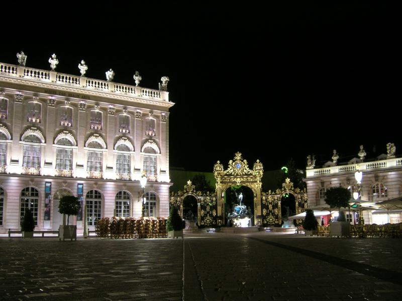 Nancy Place Stanislas nuit