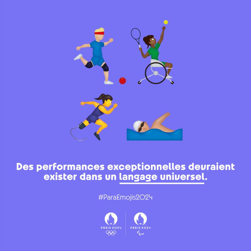Paris 2024 Para Emojis