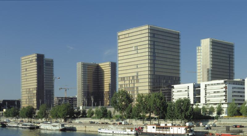 Paris BNF Mitterrand extérieur