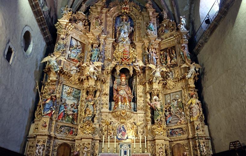 Retable de l'église Saint-Pierre de Prades