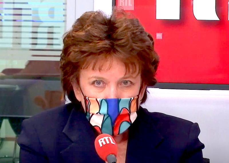 Roselyne Bachelot masquée sur RTL