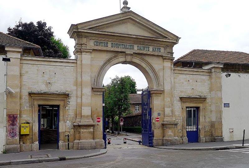 Paris, Centre Hospitalier Sainte-Anne.