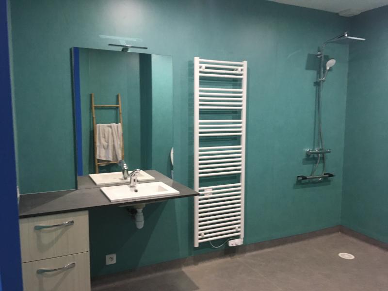 Salle de bains adaptée