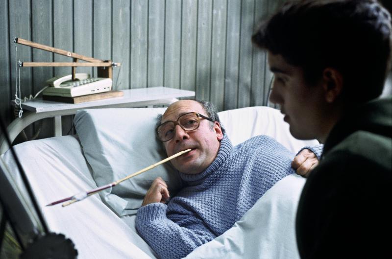 Scène du film Mar Adentro comptant le suicide assisté de l'espagnol Ramón Sampedro ©TERESA ISASI