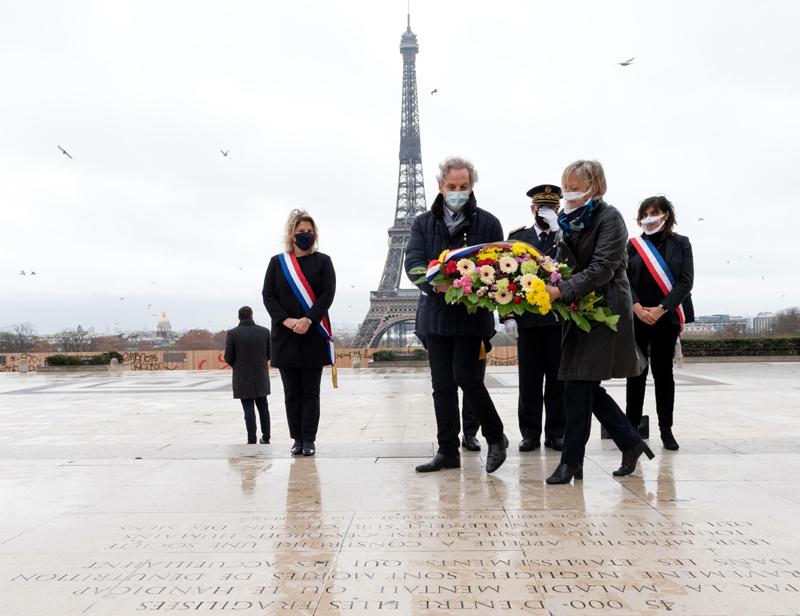 Sophie Cluzel rend hommage aux morts civils de l'occupation