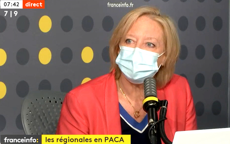 Sophie Cluzel sur France Info