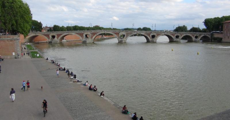 Toulouse, la Garonne et le pont Neuf