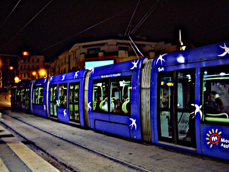 Tramway de la 1ere ligne de Montpellier
