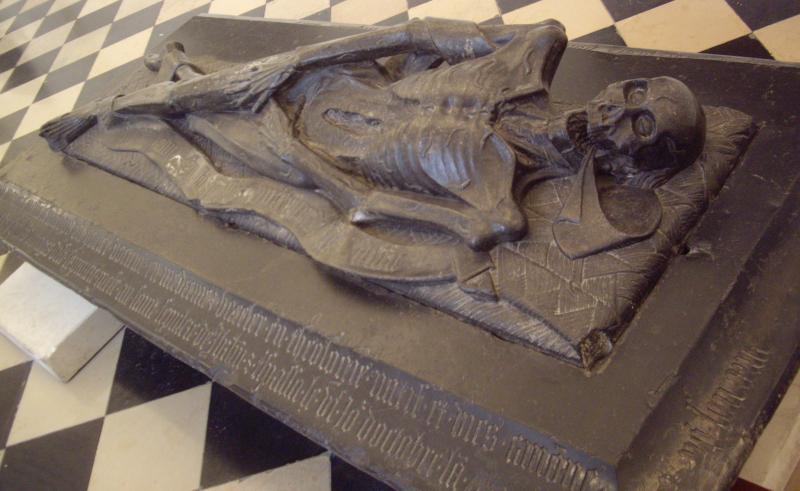 Transi de Guillaume Le Franchois dit Potier au Musée des Beaux-Arts d'Arras