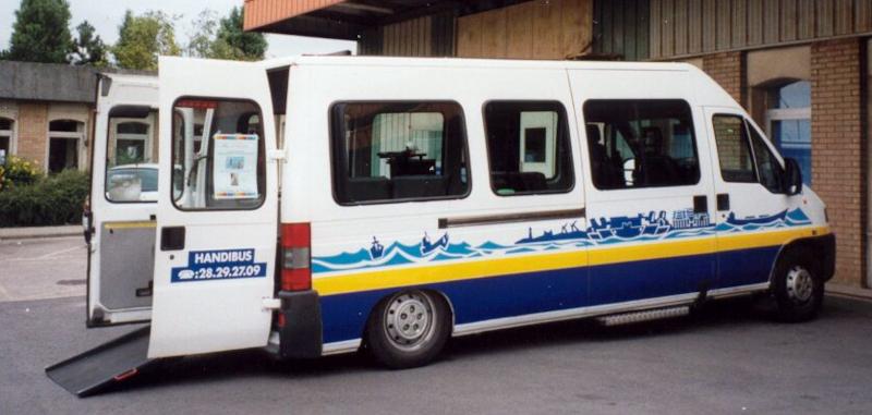 Véhicule DK'Bus Marine Handibus en 2002