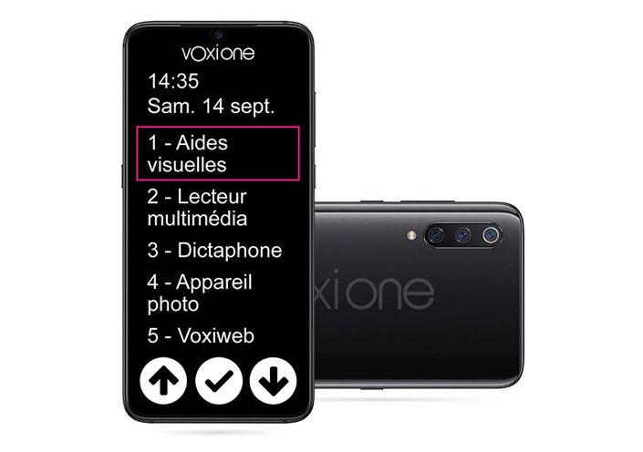 VoxiOne: le smartphone adapté.