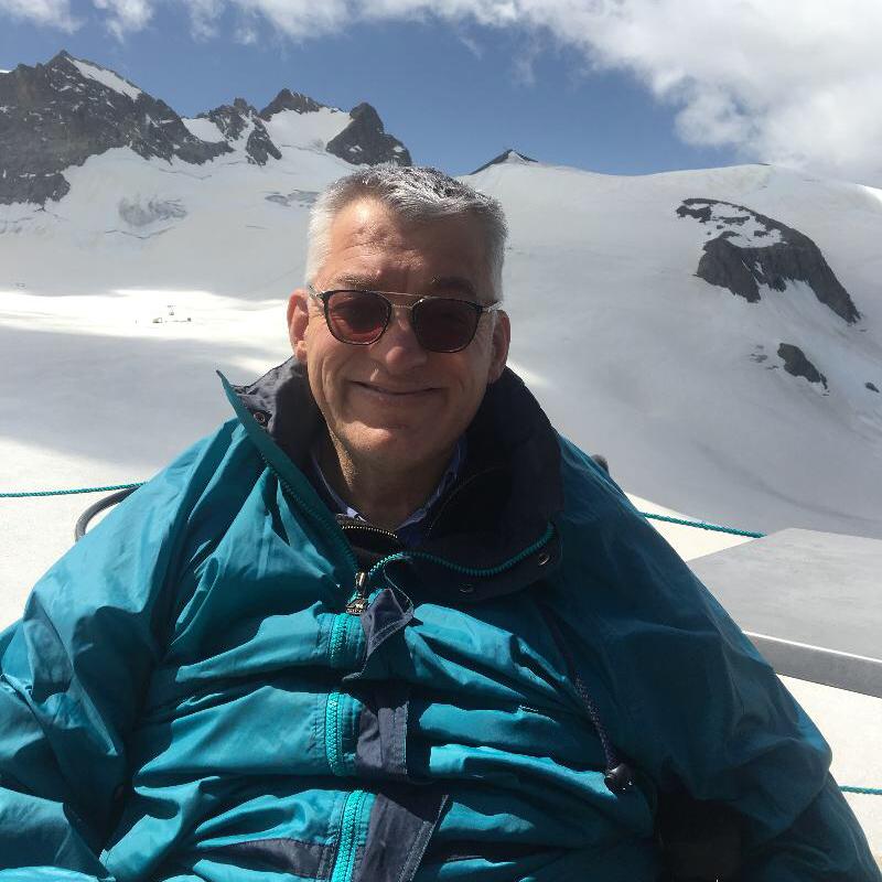 Walter à la montagne