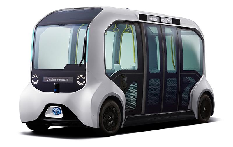 Navette autonome Toyota e-Palette